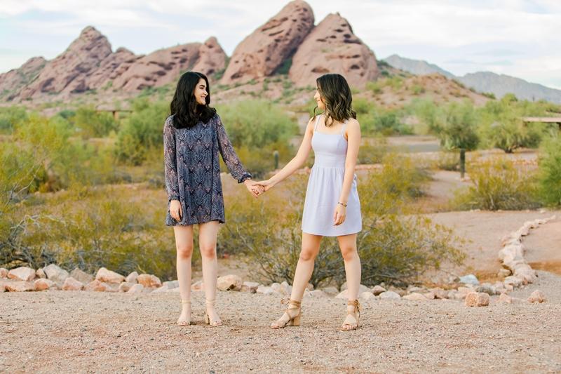 022 - Phoenix Senior Portraits {Naina & Usha}