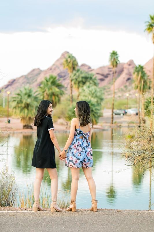107 - Phoenix Senior Portraits {Naina & Usha}