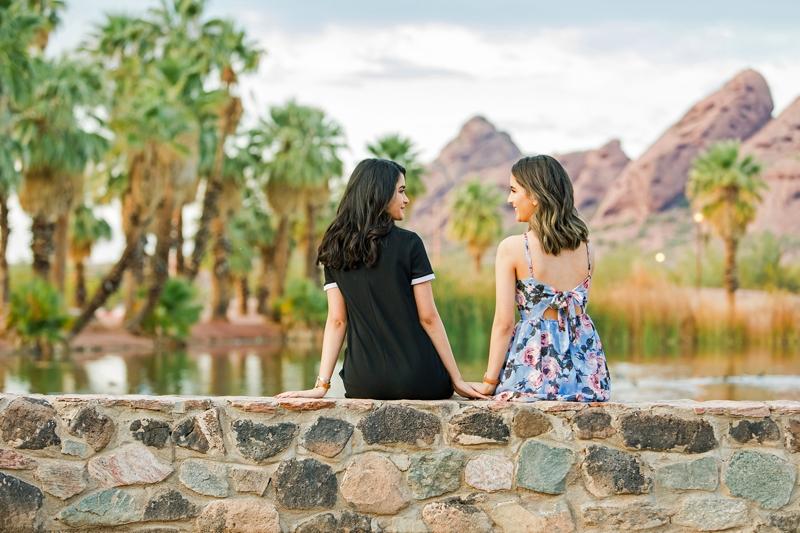 129 - Phoenix Senior Portraits {Naina & Usha}