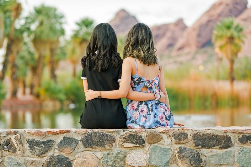 132 - Phoenix Senior Portraits {Naina & Usha}