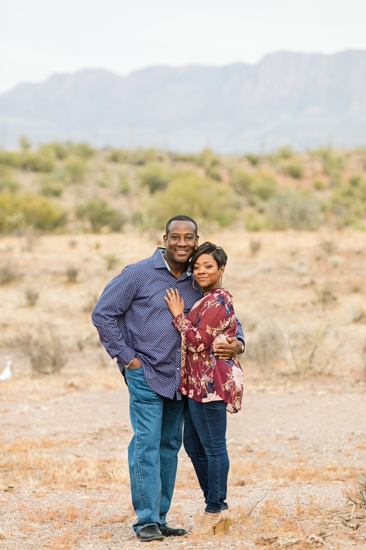 105 - Phoenix Engagement Photography {Ja'Nea & Keith}