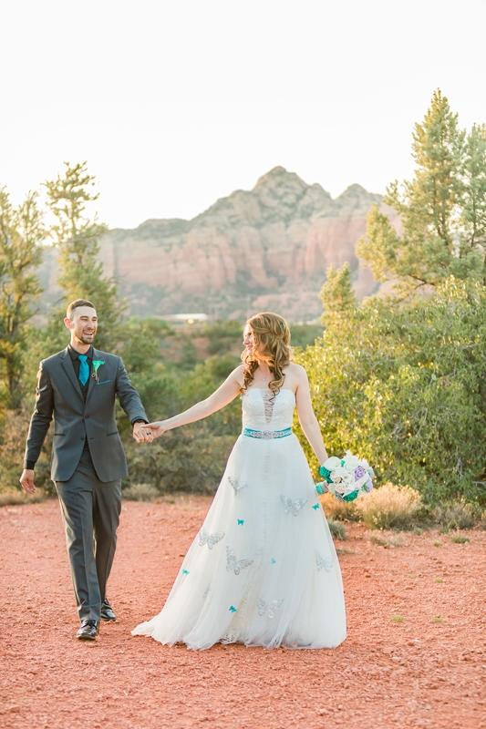0W4A3227 - Sedona Wedding Photography   Ashley & Michael