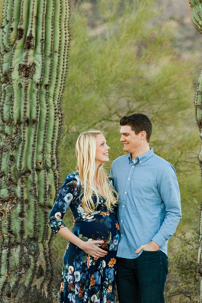 lost dutchman maternity session