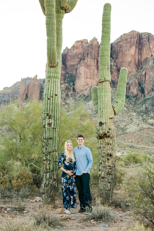 005 - Phoenix Maternity Photographer {Lauren & Cameron}