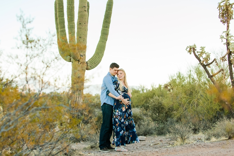 063 - Phoenix Maternity Photographer {Lauren & Cameron}
