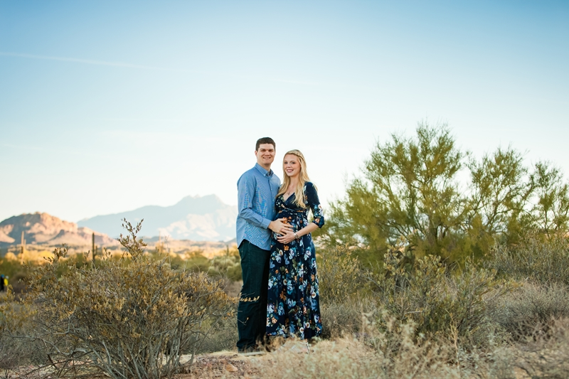 087 - Phoenix Maternity Photographer {Lauren & Cameron}