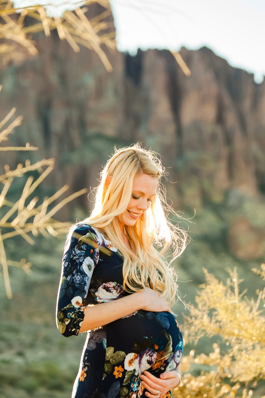 110 - Phoenix Maternity Photographer {Lauren & Cameron}