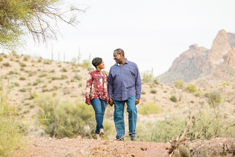 074 - Phoenix Engagement Photography {Ja'Nea & Keith}