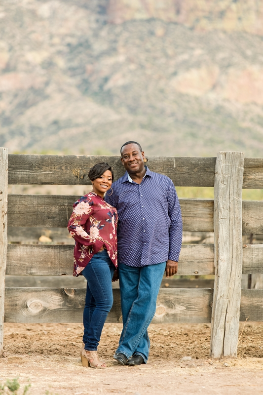 096 - Phoenix Engagement Photography {Ja'Nea & Keith}
