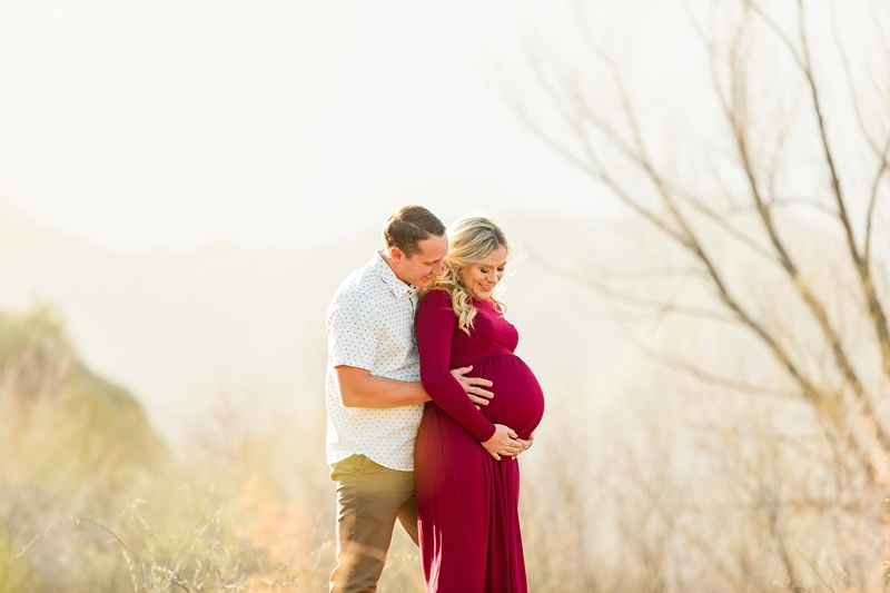 maternity session at coon bluff