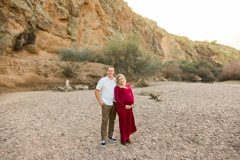scottsdale maternity photographer