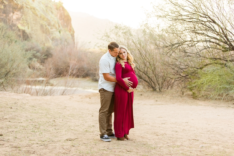east mesa maternity photographer