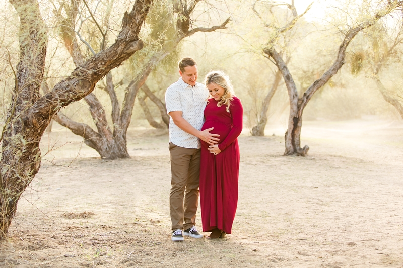 gilbert maternity photography