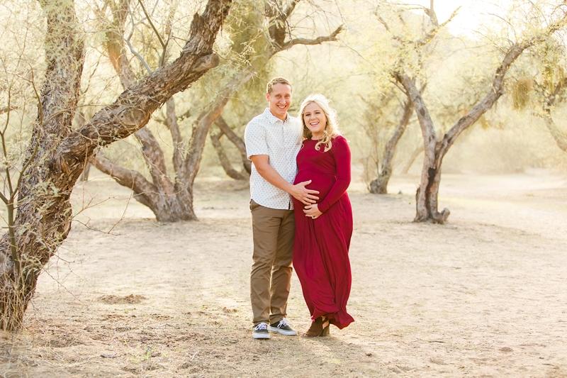 mesa maternity photography