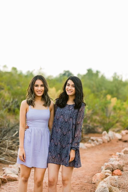 012 - Phoenix Senior Portraits {Naina & Usha}