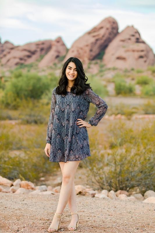 018 - Phoenix Senior Portraits {Naina & Usha}