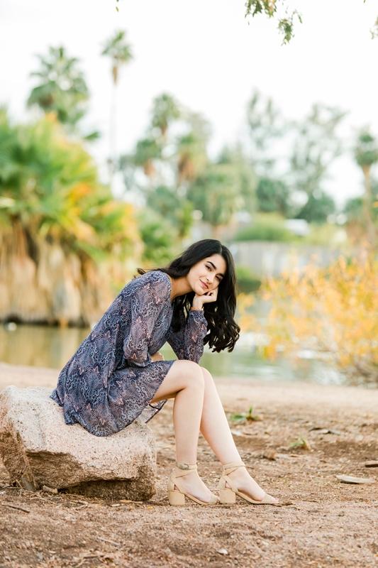 038 - Phoenix Senior Portraits {Naina & Usha}