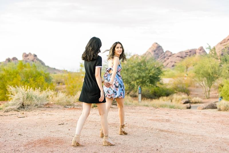 058 - Phoenix Senior Portraits {Naina & Usha}