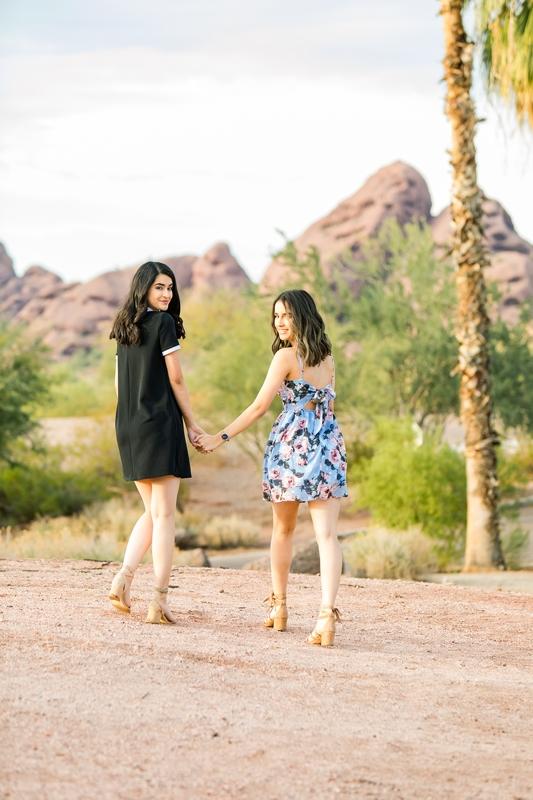 062 - Phoenix Senior Portraits {Naina & Usha}