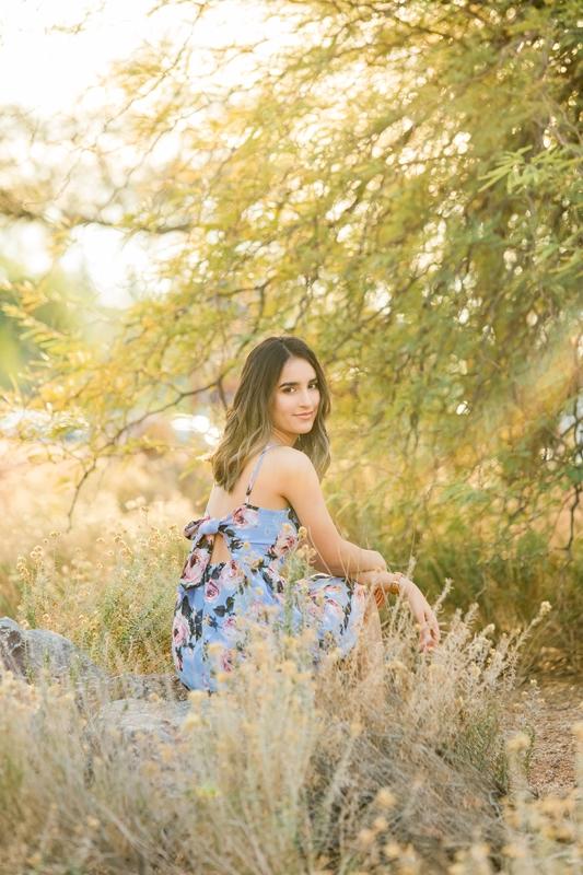 065 - Phoenix Senior Portraits {Naina & Usha}