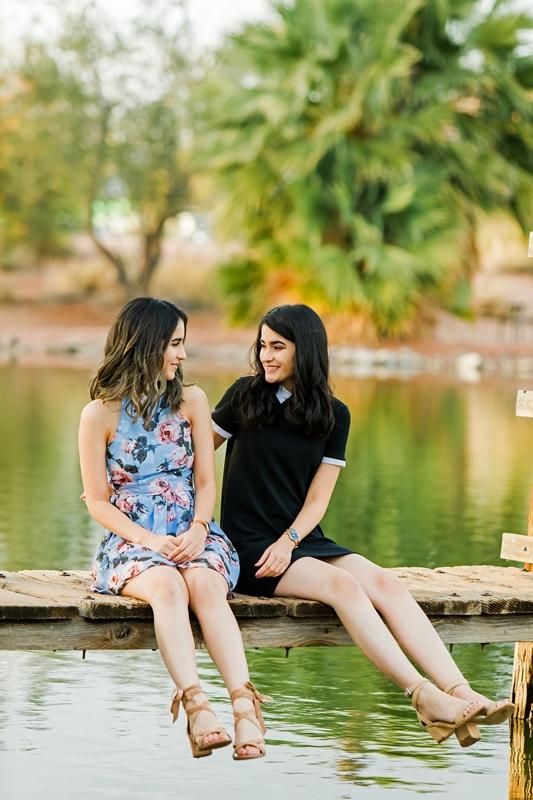 078 - Phoenix Senior Portraits {Naina & Usha}