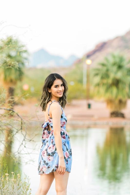 098 - Phoenix Senior Portraits {Naina & Usha}