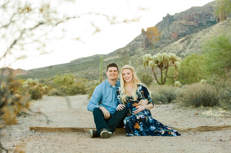 009 - Phoenix Maternity Photographer {Lauren & Cameron}