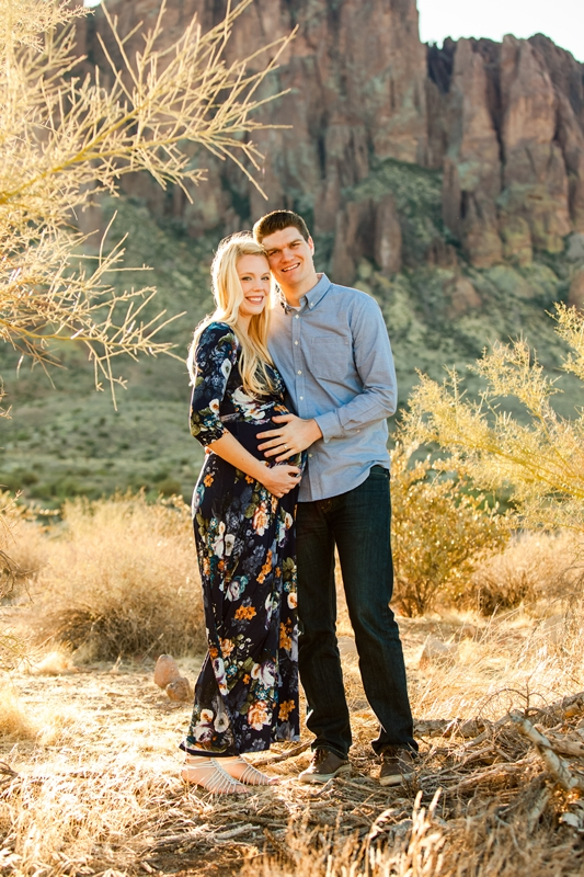 112 - Phoenix Maternity Photographer {Lauren & Cameron}