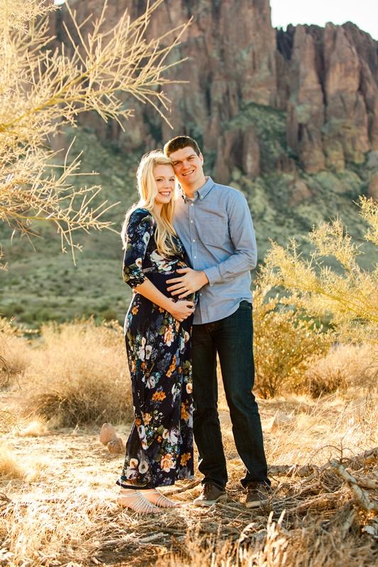 112 - Phoenix Maternity Photographer {Lauren & Cameron}