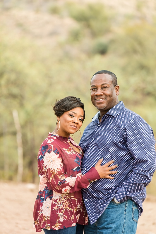 002 - Phoenix Engagement Photography {Ja'Nea & Keith}