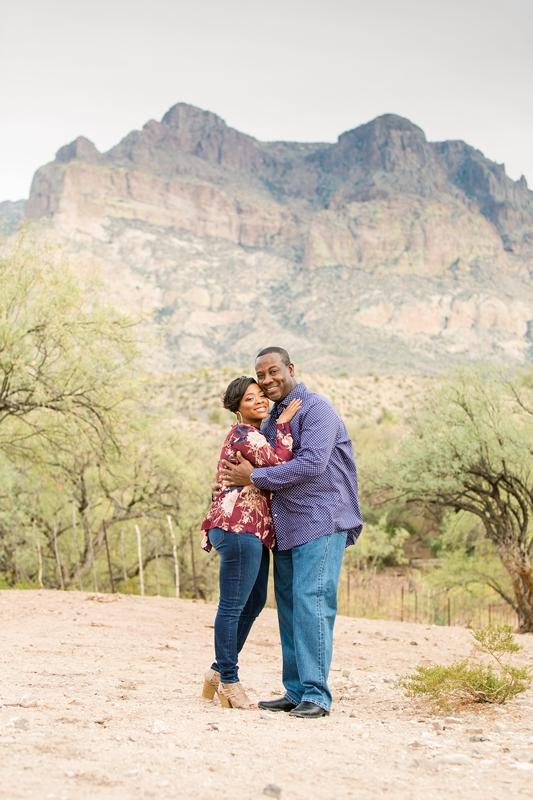 004 1 - Phoenix Engagement Photography {Ja'Nea & Keith}