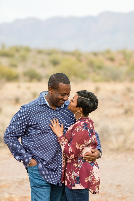109 - Phoenix Engagement Photography {Ja'Nea & Keith}