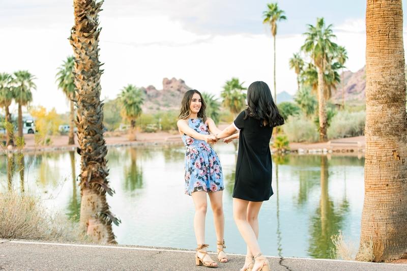 112 - Phoenix Senior Portraits {Naina & Usha}
