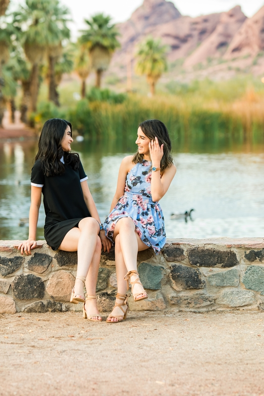 117 - Phoenix Senior Portraits {Naina & Usha}