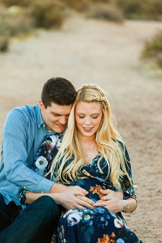 020 - Phoenix Maternity Photographer {Lauren & Cameron}