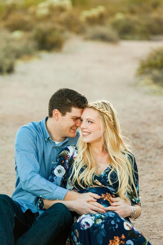 023 - Phoenix Maternity Photographer {Lauren & Cameron}