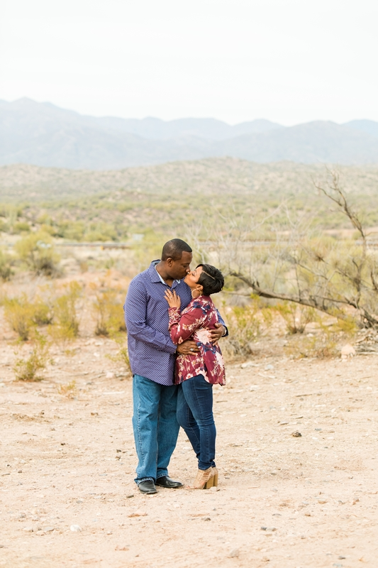 092 - Phoenix Engagement Photography {Ja'Nea & Keith}